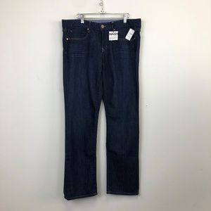 NWT Gap 1969 Dark Wash Real Straight Ankle Jeans